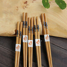 2/5 Pairs Set Chinese Natural Wood Color Wooden Chopsticks Value Pack Chop Stick