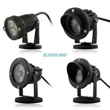 10W Waterproof LED Landscape Garden Wall Yard Pond Flood Light Outdoor Lamp Base