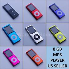 "New 8GB Slim Mp3 Mp4 Player With 1.8"" LCD Screen FM Radio, Video, Games & Movie"