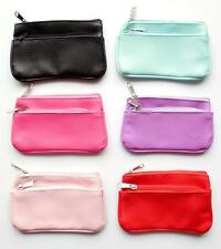 NEW SMALL COIN wallet purse with key fob ring Various colours *Fast delivery*
