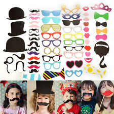 DIY Face Photo Photobooth Props Masks Wedding Birthday Party Favor Gift