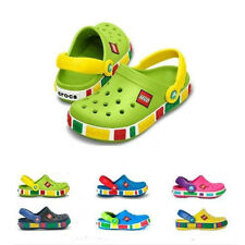 New Unisex Childs Kids Baby Toddler Summer Sandals Mickey clogs Legoshoes