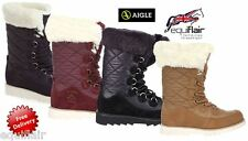 AIGLE OUSERY 2 WATERPROOF BOOTS SNOW BOOTS - ALL SIZES AND COLOURS