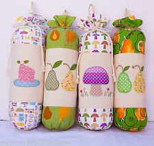 Carrier bag holder Plastic bag Dispenser Storage Bags Grocery Bags Tidy Fabric