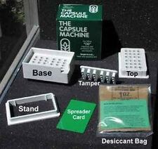 """The CAPSULE MACHINE (Pill/Capsule Filler) Complete Kit (CHOOSE SIZE) """"0"""" or """"1"""""""