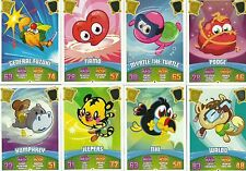 MOSHI MONSTERS SERIES 3 CODE BREAKERS HEAT REVEAL CARDS CHOOSE WHAT YOU NEED