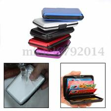 Waterproof Aluminum Metal Pocket Wallet Business ID Credit Card Holder Case Box