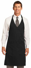 Port Authority Adult Easy Care Two Pocket Tuxedo V Neck Apron. A704