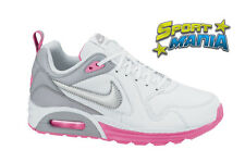Nike Air Max Trax Bianco Scarpe Donna Sportive Sneakers 631763 101 2014