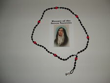 Knotted Cord Seven Sorrows Rosary