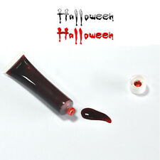 FAKE BLOOD THEATRICAL MAKE UP FANCY DRESS PARTY COSTUME COSPLAY VAMPIRE ZOMBIE