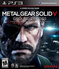 Metal Gear Solid V: Ground Zeroes  (Sony Playstation 3, 2014)