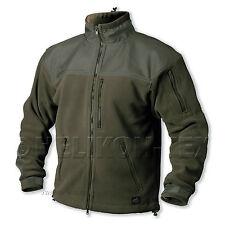 Helikon Classic Army Fleece, Men Tactical Military Jacket Olive, All Sizes