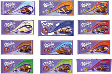 MILKA SWISS CHOCOLATE DIFFERENT VARIATIONS!! THE CHEAPEST ON EBAY - US SELLER