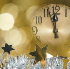 """8 x Happy New Year 2014 Celebrations Blank Greetings Cards """"2 Minutes to Go!"""""""