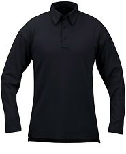 Propper I.C.E Performance Long Sleeve Tactical Polo Shirt LAPD Navy