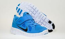 BRAND NEW KIDS BOYS NIKE FREE RUN VELCRO RUNNING SHOES (BLUE) RRP:$80.00