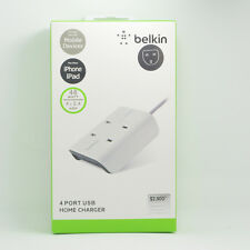 Belkin 48W 4x2.4amp usb charger for Samsung and Apple mobile devices