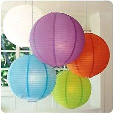 """SALE 10""""/25cm Multi-Color Chinese Paper Lantern Lampshade Wedding Party Decor"""