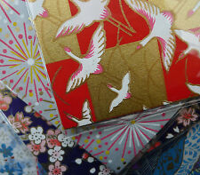 Japanese Chiyogami Origami Paper - 12cm X 12cm  - 20 mixed designs