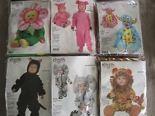 CHARADES INFANT & TODDLER COSTUMES - YOUR CHOICE: LION, SKUNK, PIG,CAT,FLOWER