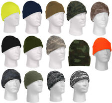 Beanie Watch Cap Fine Knit Acrylic Cold Weather Rothco 5788 5787 5789 5702 5714