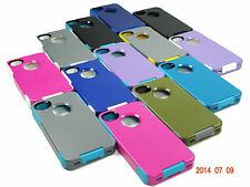 2 LAYER HYBRID RUGGED HARD CASE FOR APPLE iPHONE 4 & 4S WITH SCREEN PROTECTOR