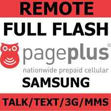 [REMOTE] Flash Samsung Galaxy S2, S3, S4, S5 to Page Plus - Talk/Text/3G/MMS