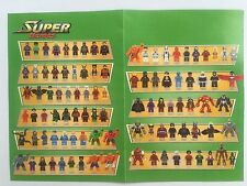 All Decool Custom Super Heroes Series Marvel Minifigures Without Box