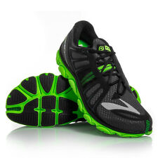 Men's Brooks Pure Flow 2 Running Shoes -  Black/Green