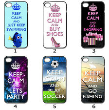 Designer Phone Hard Case Cover Keep Calm Designer Collection 7