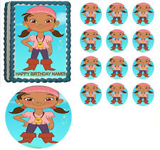 Jake and the Neverland Pirates IZZY Edible Cake Topper Frosting Sheet-All Sizes!