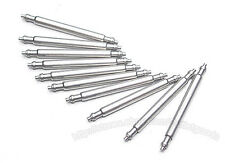 20 x watch spring pins/bars 10mm-20mm nickel plated free p&p same day postage