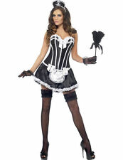 Ladies Sexy Fever Flirty French Maid Hen Outfit Fancy Dress Costume