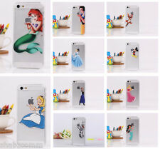 Elsa Snow White Ariel Mermaid Disney Hard Case Cover for iPhone6 & iPhone6 Plus