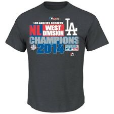 L. A. Dodgers  National League West Division Champions Official Club House Tee