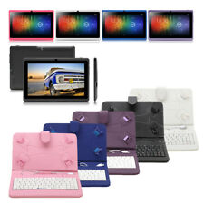 "New 7"" iRulu 8GB/16GB WIFI Tablet PC Android 4.2 Dual Core&Camera w/ Keyboard"