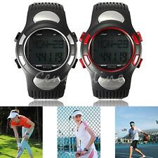 Fitness 3D Sport Wrist Watch Pulse Heart Rate Monitor Pedometer Calories Counter