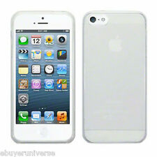 """TPU SOFT SILICONE CLEAR GEL BACK CASE COVER FOR iPHONE 6 4.7"""" + SCREEN PROTECTOR"""