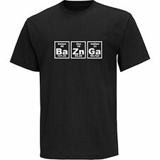 Bazinga Periodic Table Mens T-Shirt, The Big Bang Theory Sheldon Cooper