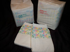 8 Diapers - Bambino Classico - Medium or Large - plastic - adult baby - AB/DL