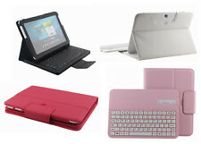 Wireless Bluetooth Keyboard Leather Case For Samsung Galaxy Note 10.1 2014 P600