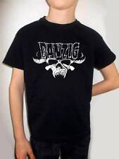 DANZIG t-shirt kid BLACK model:logo shirt clothing T-shirt for children