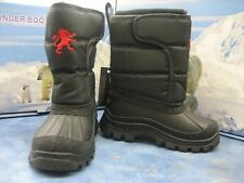 New Black Thunder Boots for Children Snow weather proof Boots