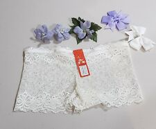 Extra Small - Size 8 - Ladies' Lace Hipster-Boyleg Panties