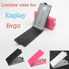 High Quality 3 Colors Fashion Leather Flip Case Cover for EXPLAY Vega Smartphone