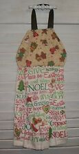 Gingerbread Candy Canes Peppermint Baking Hanging Kitchen Oven Dishtowel HCF&D