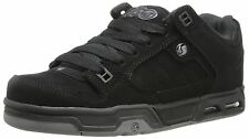 DVS Militia Heir Black Grey Suede New Mens Trainers Shoes Boots