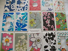 FLORAL / FLOWERS - CUSTOM MADE SWITCHPLATE COVERS - HOME DECOR - NEW