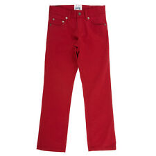 *BNWT* Kite Clothing Boys Red Slim Fit Jeans - 100% Organic Cotton